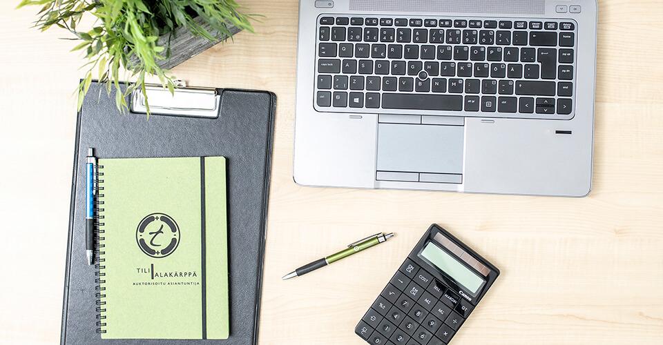 Kirjanpito ja muut taloushallinnon palvelut - Tilialakärppä Oy