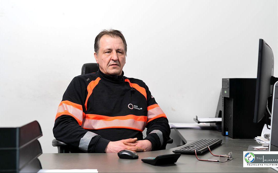 Oulu Hinaus Oy – On hyvä tehdä yhteistyötä Tilialakärpän kanssa